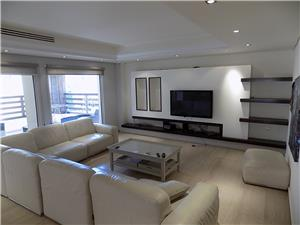 Furnished 3 BR/ with big terrace in dier ghabar