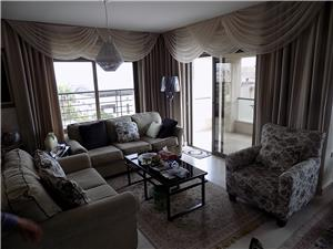 Furnished 2 Br / 3rd floor with viewing balcony near orthodox  school shmesani