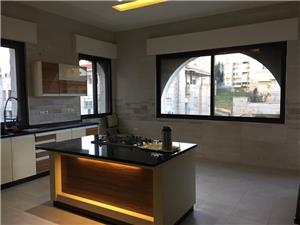 Semi furnished 4 MBR /first floor with a big terrace