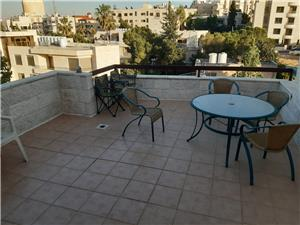 top roof furnished 1 bedroom with a terrace jabal amman