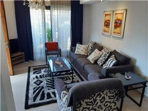 Brand new furnished G.F. 2BR with terrace Jabal Amman