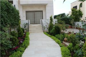 G.F furnished 2 BR with a terrace